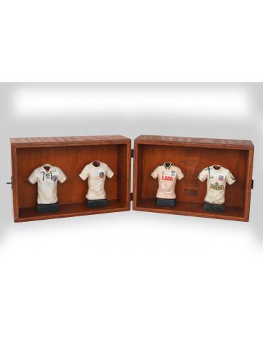 Colo-Colo caja colección 4 bustos...