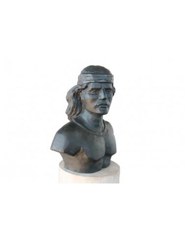 Colo-Colo monumento busto