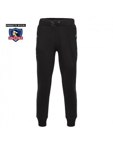 Pantalon Urbano Negro Colo-Colo
