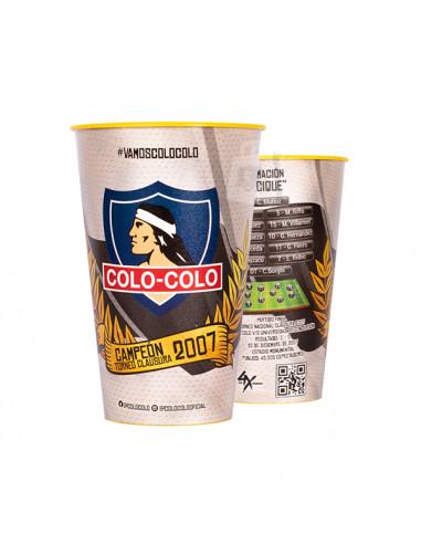 Pack vasos Colo Colo...