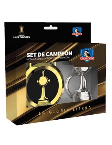 Set Medalla + Llavero Copa...
